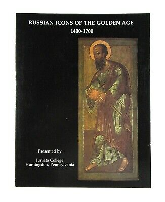 BOOK Russian Icons of the Golden Age 1400-1700 medieval painting art Moscow old