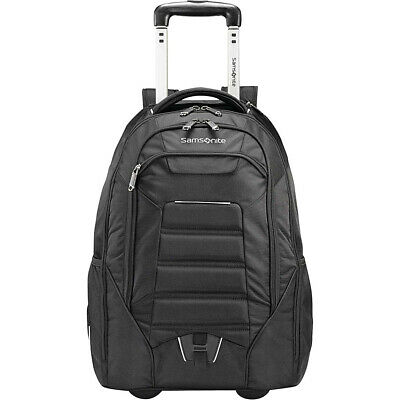 Samsonite Tectonic 2 Wheeled Laptop Backpack - Black Rolling Backpack NEW
