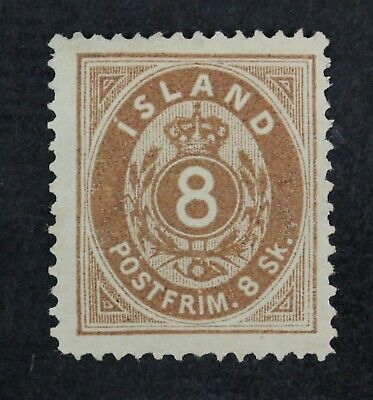 CKStamps: Iceland Stamps Collection Scott#3 Unused NG