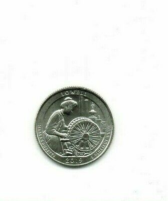 2019-P Brilliant Uncirculated Lowell National Park (MA) 25 Cent Coin!