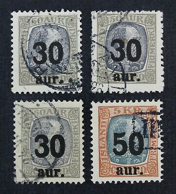 CKStamps: Iceland Stamps Collection Scott#137 138 Used