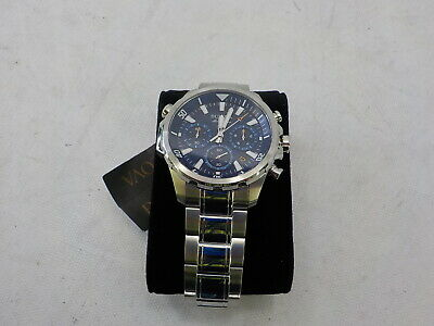 Bulova 96B256 - Men's Quartz Stainless Steel Dress Watch