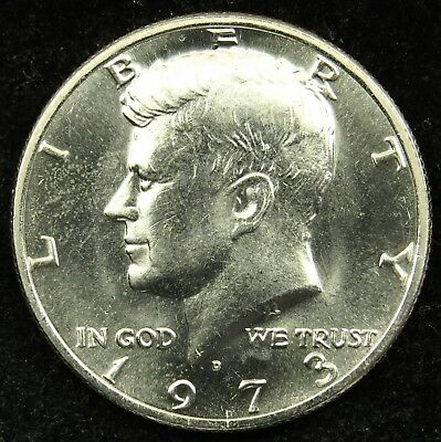 1973 D Uncirculated Kennedy Half Dollar (B01)