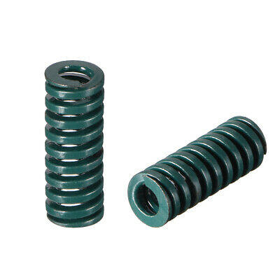 8x 20mm Long Spiral Stamping Heavy Load Compression Mould Die Spring Green 2pcs