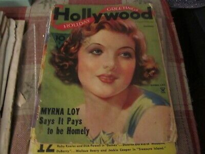 Hollywood vintage Magazine January 1935