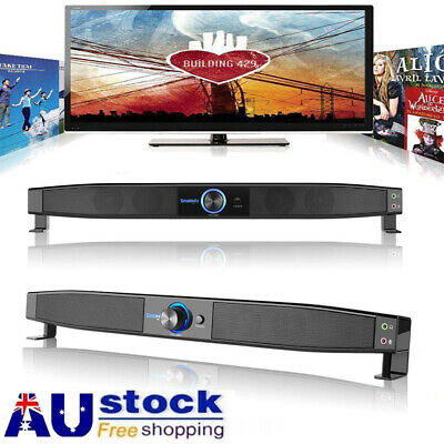 3D Surround Speakers Sound Bar System Home Theater Music Player Sound For Laptop