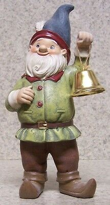 """Garden Accent Extra Large Tricycle Gnome NEW Freestanding 10 1//2/"""" tall"""