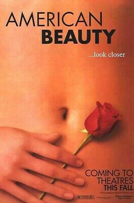 American Beauty (1999) original movie poster advance - single-sided - rolled