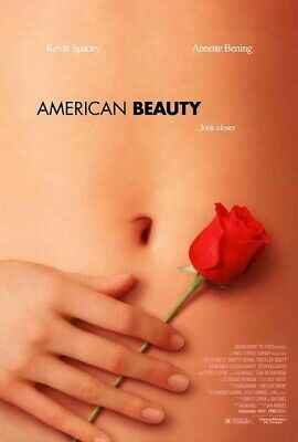 American Beauty (1999) original video poster - single-sided - rolled