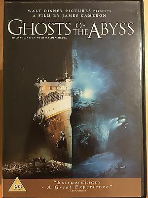 Ghosts Of The Abyss DVD 2003 James Cameron Imax Titanic Sottomarino Documentario