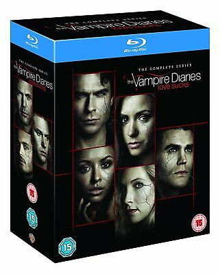 The VAMPIRE DIARIES COMPLETE SERIES SEASON 1,2,3,4,5,6,7,8 BLU RAY DISC SET 1-8