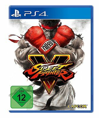 PS4 - STREETFIGHTER V (5) - Limited Day One Steelbook Edition - PLAYSTATION 4