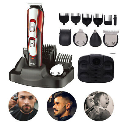 KEMEI USB Cutting Machine Electric Shaver Razor Nose Trimmer Cutter Hair Clipper