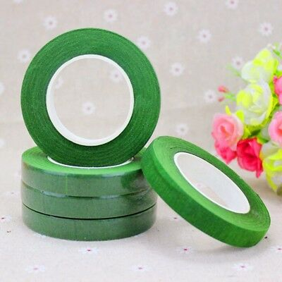 Floral Stem Wrap Florist Artificial Flower Metallic Tape Wire Corsage Craft TOP