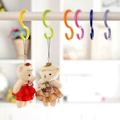 Stroller S-Type Hooks Multi-Purpose Candy Color Kitchen Hooks Hanger LA
