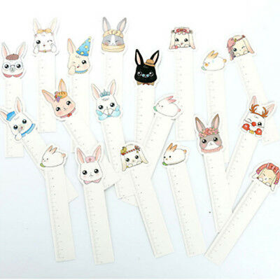 30Pcs Cartoon Rabbit Paper Bookmark Bookmark Book Mark Stationery Kids Gift BS