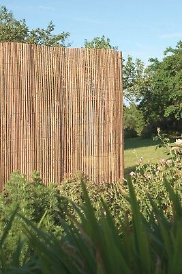 5m x 2m Bamboo Slat Screening -  Screen Roll -  Fence - Garden Fencing Fence