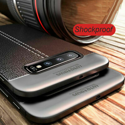 For Samsung Galaxy S10 Plus S10e S9 S8+ A8 Shockproof Rubber Slim TPU Case Cover