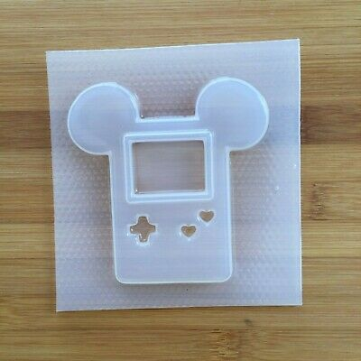 Mouse Console Shaker Mold Resin Mould Food Safe Gamer Device 90s Toys retro kids