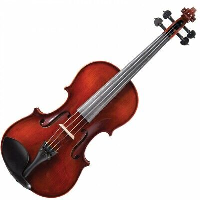 Antoni Premiere Full-Sized 4/4 Violin Fiddle Outfit - With Case, Bow & Rosin