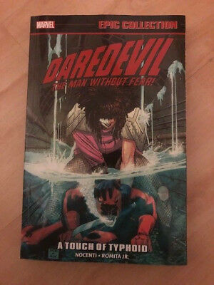 Daredevil Epic Collection volume 13 a touch of Typhoid TPB Marvel