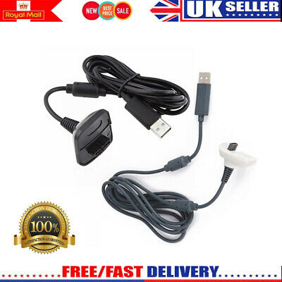 Replacement USB Charging Cable Cord for Xbox 360 Wireless Game Controller