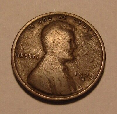 1909 S Lincoln Cent Penny - Very Good Condition - 3SU