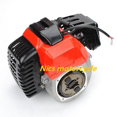 Tank Mini Pocket Scooter Chopper Dirt Bike49cc 2 stroke Pull Start Engine Motor