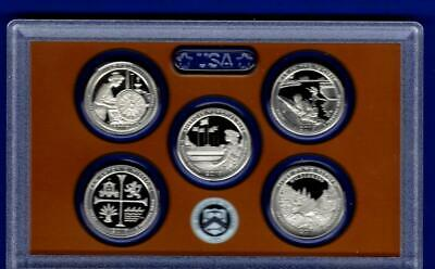 2019 S Clad Proof Quarter Set - NO Box/COA IN STOCK