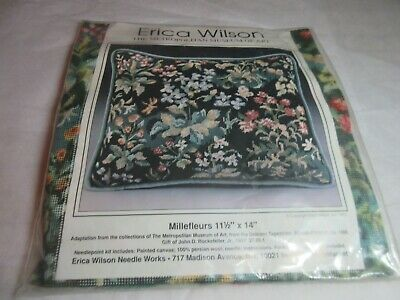 Erica Wilson Metropolitan Museum of Art MILLEFLEURS Needlepoint Embroidery KIT