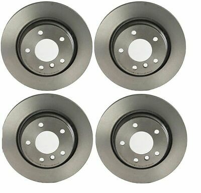 BMW E46 323i 328Ci Rear And Front Disc Brake Rotors with Pads /& Sensors Kit