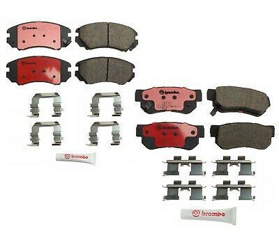 Front Brake Pads Kit For Elantra Tiburon Tucson Optima Sportage 581013CA70