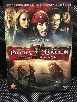 Pirates of the Caribbean: The Curse of the Black Pearl (DVD 2-Disc Set Disney)