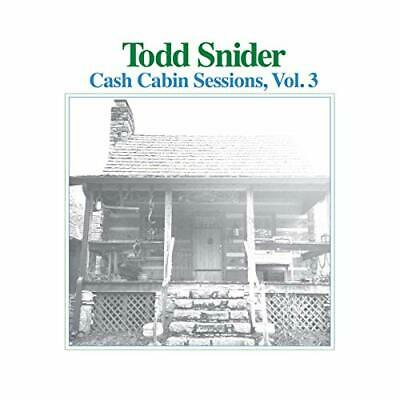 Snider,todd-Cash Cabin Sessions 3 (Uk Import) Cd New