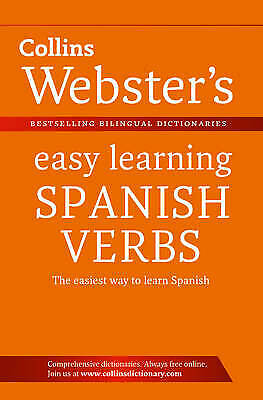 Webster's Easy Learning Spanish Verbs (Collins Easy Learning Spanish), New Books