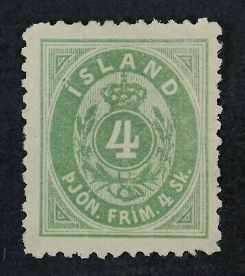 CKStamps: Iceland Stamps Collection Scott#O3 Unused NG Tiny Thin