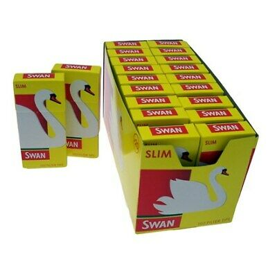 20 Swan Slim Cigarette Filter Tips - 20 x 120 Boxes