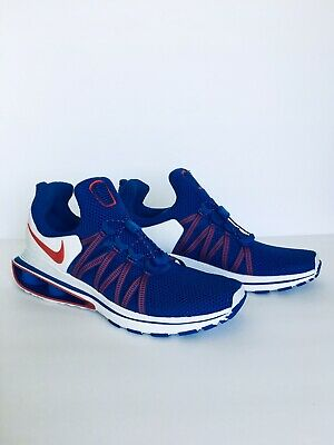 free shipping 131f9 302c5 NIB Men s Nike Shox Gravity Shoes Red White Blue USA Size 9 Retail  150
