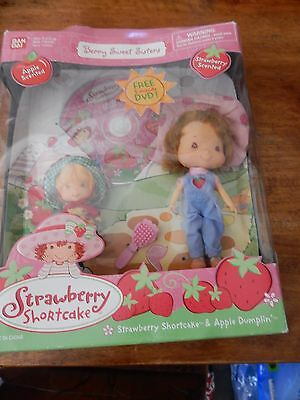 2002Strawberry Shortcake Berry Sweet Sisters Strawberry Shortcake&Apple Dumpling