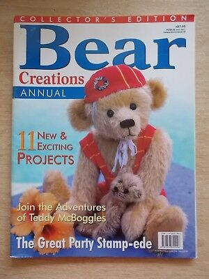 Bear Creations Vol 3 #2~Monkey~Bethany~Darcy~Clarence~Patches~Patterns