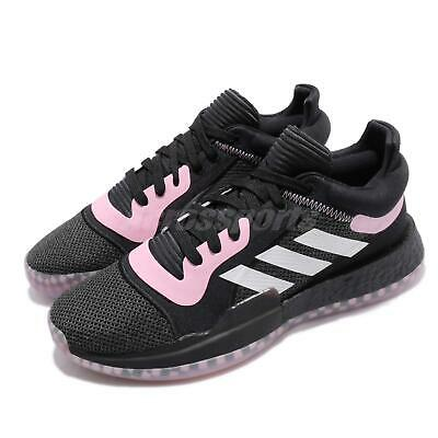 4145e68dbc544 adidas Marquee Boost Low Select PE Black Pink White Men Basketball Shoes  EE6858