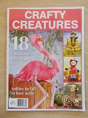 Crafty Creatures #3~18 Projects~Flamingo~Hiney B~Cows~Koala~Monkey~Patterns