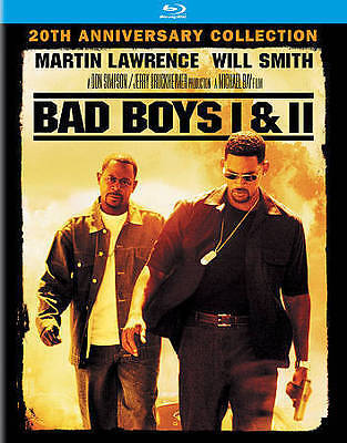 BLU-RAY Bad Boys / Bad Boys II (Blu-Ray) NEW Martin Lawrence