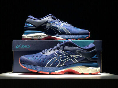 Free Shipping ! 2018 Asics Gel-Kayano 25 Mens Running Shoes (blue)