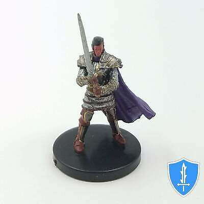 Human Paladin of the Oath of Vengeance - Waterdeep Dungeon Mad Mage #23 D&D Mini
