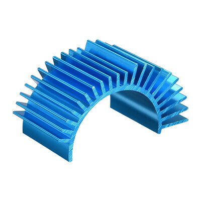 Aluminum Electric Engine Motor Heatsink Fins Cooling Blue For RC 540 550 Size