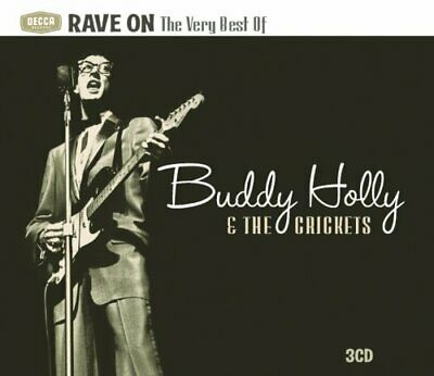 Buddy Holly and Crickets - Rave On: Very Best Of CD (3) Spectrum NEW