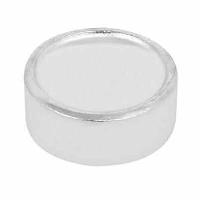 Leather Craft 20mm Dia Rivet Snap Setter Round Base Silver Tone