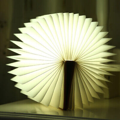 LED Book Lamp Booklight Light Night Rechargeable Table USB Desk Gifts Colorful