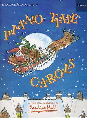 Piano Time Carols by Pauline Hall - 19 Really Easy Arrangements